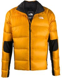 The North Face Chest Logo Padded Coat - Metallic