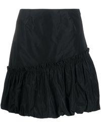 Essentiel Antwerp Ruffle Mini Skirt - Black
