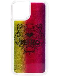 KENZO Чехол Для Iphone 11 Pro С Логотипом - Розовый