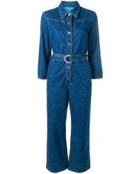 M.i.h Jeans Harper denim jumpsuit - Bleu