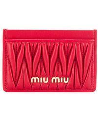 Miu Miu - カードケース - Lyst