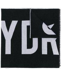 Hydrogen Logo scarf - Noir