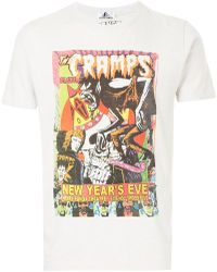Hysteric Glamour - Graphic Poster Print T-shirt - Lyst