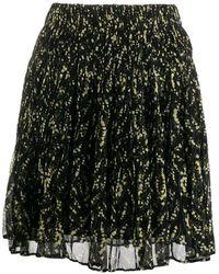 Ba&sh フローラル ミニスカート - ブラック