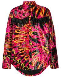 DSquared² Bead Fringe Jacket - Pink