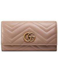 Gucci - GG Marmont Portemonnee - Lyst
