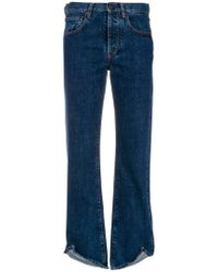 Ports 1961 - Flared Slim-fit Jeans - Lyst