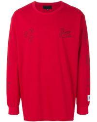Xander Zhou Longsleeved T-shirt - Red