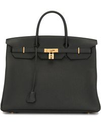 Hermès Borsa tote Birkin 40 2020 Pre-owned - Nero