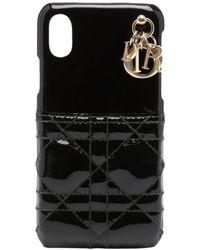 Dior プレオウンド ディオール Iphone Xs ケース - ブラック