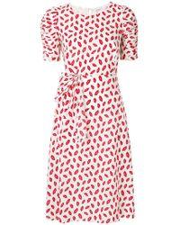 P.A.R.O.S.H. - Lips Print Dress - Lyst
