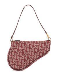Dior Мини-сумка Pre-owned С Узором Trotter - Красный