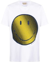 Marni - プリント Tシャツ - Lyst