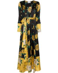 We Are Leone - Floral Print Maxi Cardigan - Lyst