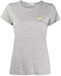 Rag & Bone Heart Tシャツ - マルチカラー