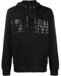 Armani Exchange ロゴ パーカー - ブラック