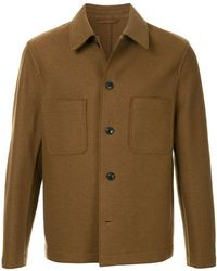 Tomorrowland Buttoned Shirt Jacket - Brown