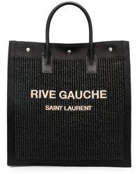 Saint Laurent - Сумка-тоут Rive Gauche - Lyst