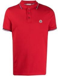 Moncler - ロゴ ポロシャツ - Lyst
