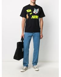 Gcds Tom & Jerry Tシャツ - ブラック