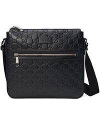 Gucci Signature-shopper - Zwart