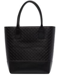 Bottega Veneta Intarsio Tote Bag - Black