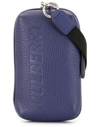 Mulberry Zipped Pouch Wallet - Blue