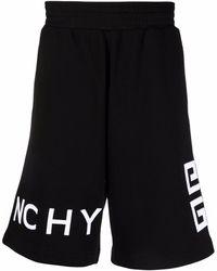 Givenchy Спортивные Шорты С Вышитым Логотипом - Черный