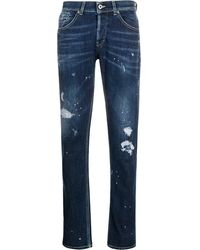 Dondup Slim-fit Jeans - Blauw