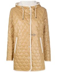 Fay - Quilt Hooded Padded Jacket - Lyst