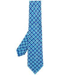 Kiton - Geometric Print Tie - Lyst