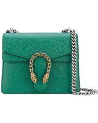 Gucci Мини-сумка Dionysus На Цепочке - Зеленый