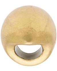 Monies Foil Ring - Metallic