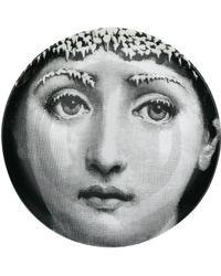 Fornasetti Plato decorativo - Negro