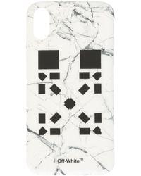 Off-White c/o Virgil Abloh - X Vancouver マーブル Iphone X ケース - Lyst