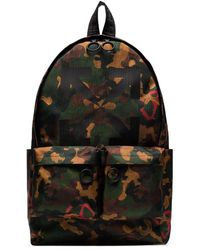 Off-White c/o Virgil Abloh Camouflage-print Backpack - Black