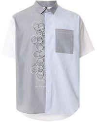 Neil Barrett - パネルシャツ - Lyst