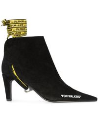 Off-White c/o Virgil Abloh - For Walking Ankle Boots - Lyst