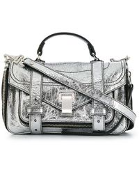 Proenza Schouler Ps1+ Tiny Tas - Metallic