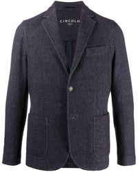 Circolo 1901 シングルジャケット - ブルー