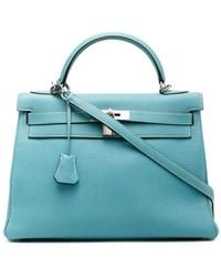 Hermès 2006 Pre-owned Kelly 32 Handbag - Blue