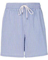 Polo Ralph Lauren - Striped swim shorts - Lyst
