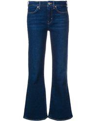 M.i.h Jeans クロップド フレア ジーンズ - ブルー