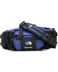 Supreme Tnf Mountain Waist Bag - Blue