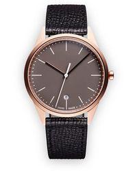 Uniform Wares 'C36 Date' Armbanduhr - Schwarz