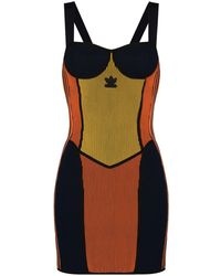 adidas Vestido tipo corsé de x Paolina Russo - Metálico