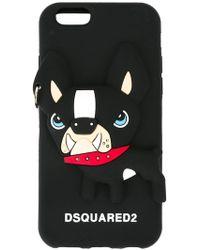 DSquared² Dog Iphone 6 Case - Black