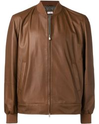 Brunello Cucinelli - Zipped-up Jacket - Lyst