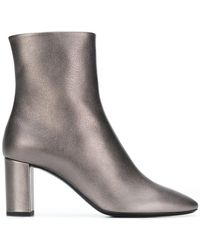 Saint Laurent - Lou Lou 95 Ankle Boots - Lyst