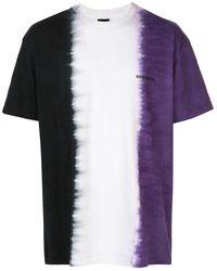 Noon Goons Tie-dye Cotton T-shirt - Black